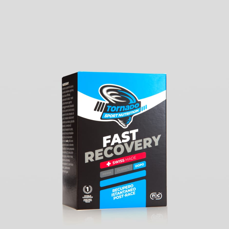 Fast recovery – stick orosolubili cool orange | Tornado Sport Nutrition