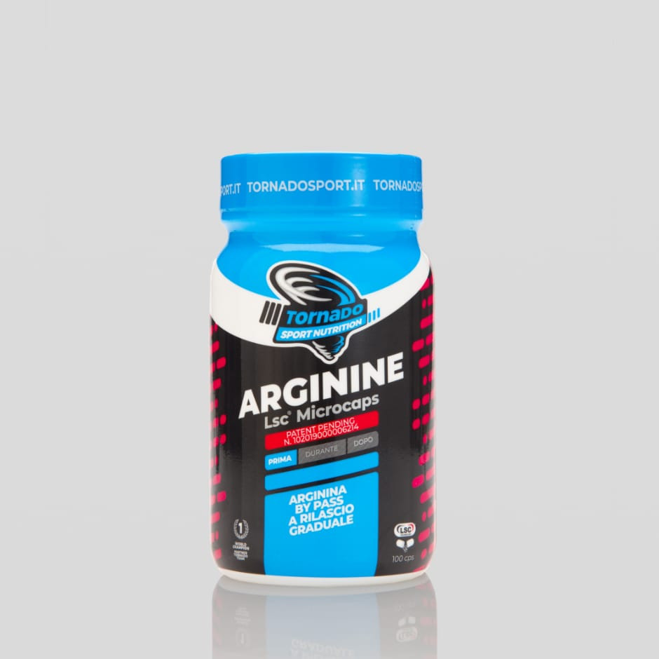 Arginine Lsc® Microcaps – capsule | Tornado Sport Nutrition