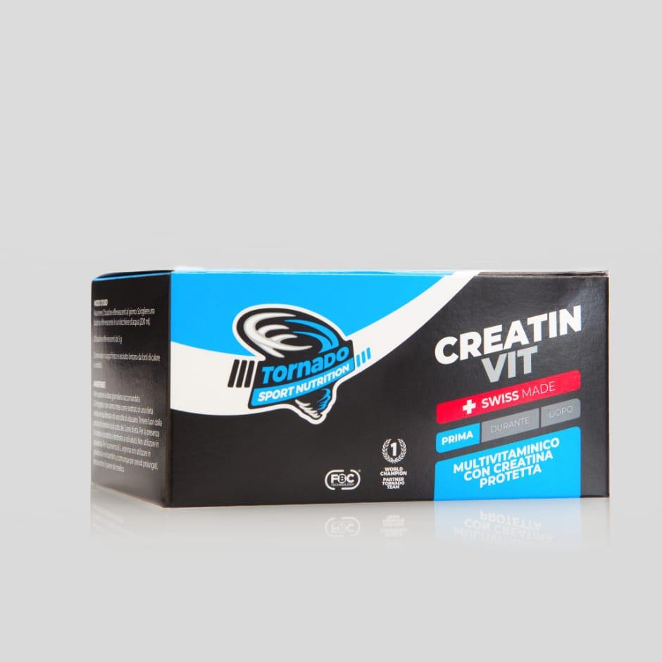 Creatinvit – bustine | Tornado Sport Nutrition